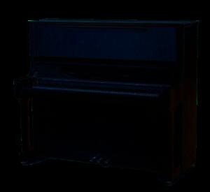 Neu: Feurich Concert 133, Schwarz hochglanzpoliert